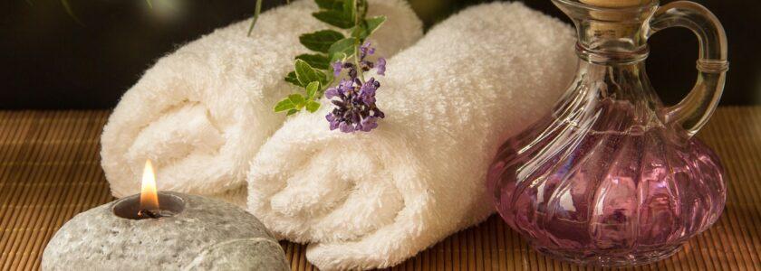 ręcznik świeca SPA